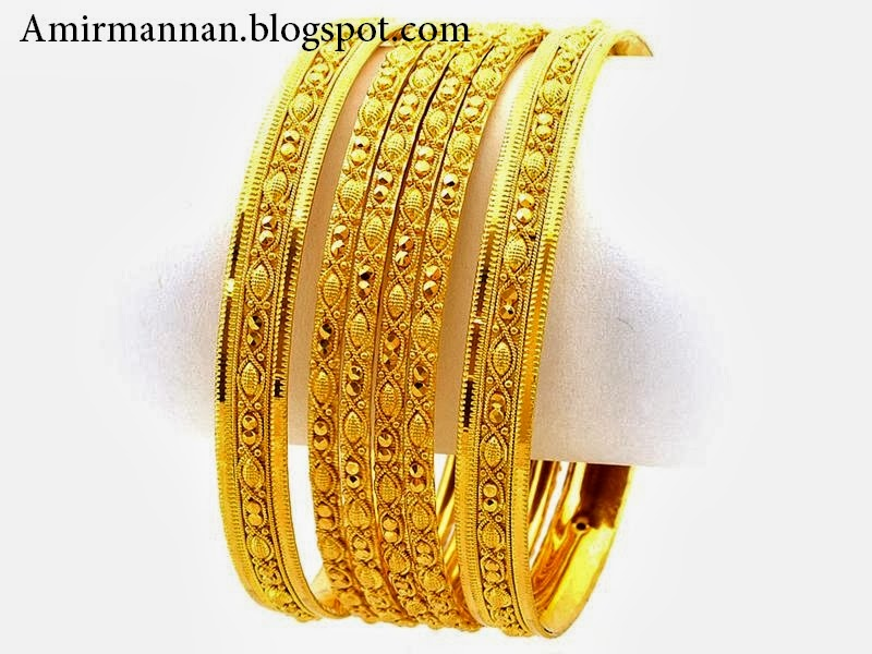 Nice Beautiful Gold Bangles Designs Pictures Inspiration - Jewelry ...