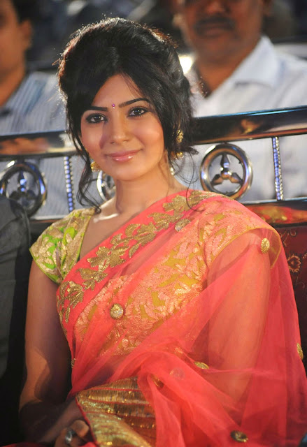Samantha Ruth Prabhu Beautiful Pictures In Saree