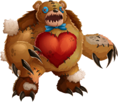 imagen del monstruo teddy fear de monster legends