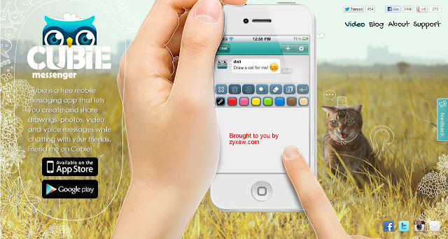 Free Mobile Multimedia, Text & Voice Messaging App: Create & Share Art, Snaps, Videos, Stickers