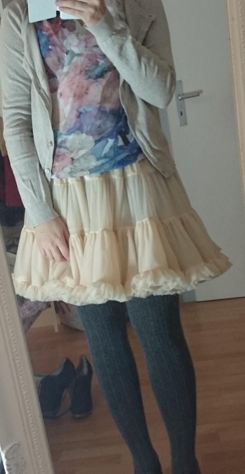 Petticoat und Strumpfhose