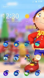 Screenshots of the Noddy for Android tablet, phone.