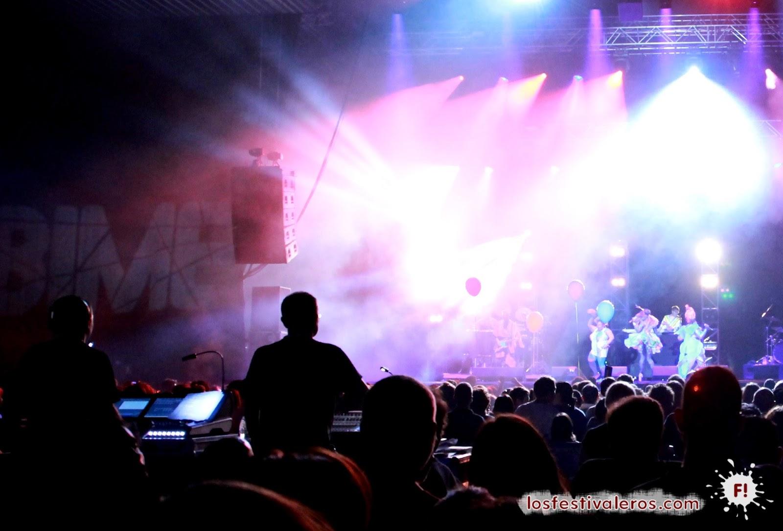 Basement Jaxx, BIME, 2014, Festival, Concierto