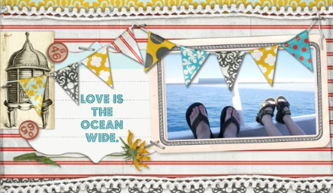 Love is the ocean wide.