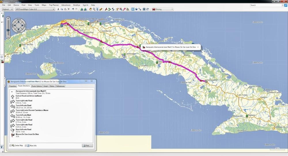 GPSTravelMapscom Cuba GPS Map Garmin TomTom Magellan