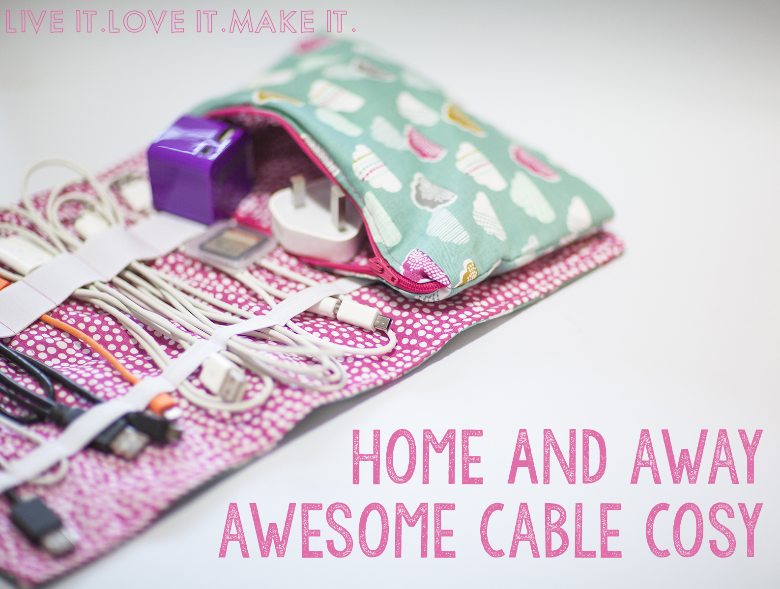 Live it . Love it . Make it.: Makers Month: Make it: Cable Cosy + ...