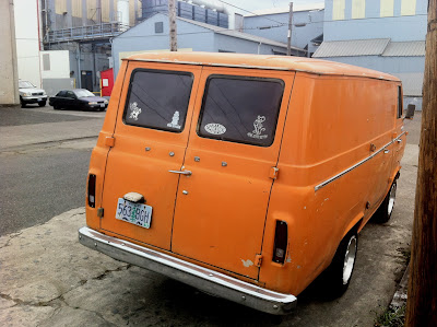 1967 Ford Econoline Heavy Duty Panel Van.