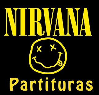 Smells Like Teen Spirit de Nirvana Partitura de Flauta, Violín, Saxofón Alto, Trompeta, Viola, Oboe, Clarinete, Saxo Tenor, Soprano Sax, Trombón, Fliscorno, Violonchelo, Fagot, Barítono, Bombardino, Trompa, Tuba Elicón y Corno Inglés Partitura Fácil Easy Sheet Music by Nirvana