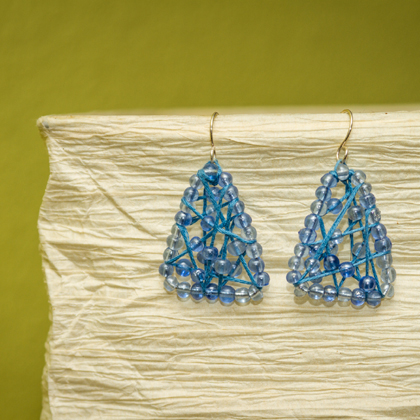 How To Make Embroidery Thread Earrings