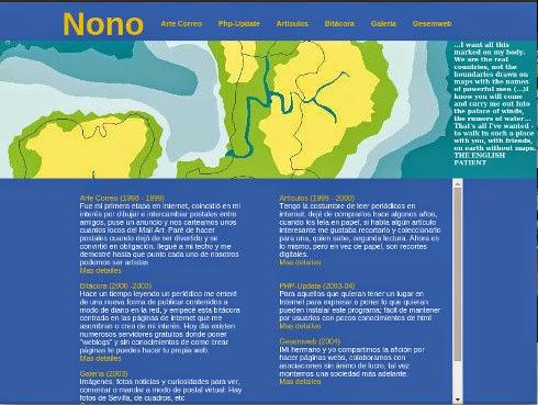 Web de nonopp sobre el año 2006
