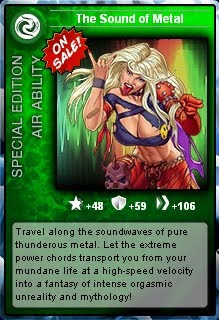 Sound of Metal card at Superhero City