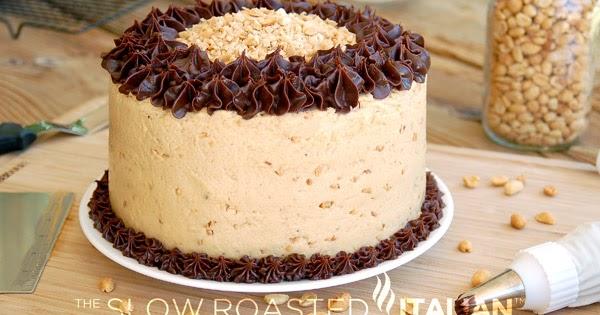 Peanut Butter Fudge Chocolate Cake