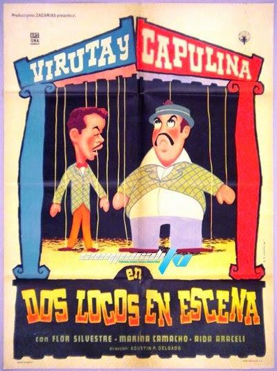 Viruta y Capulina: Dos Locos En Escena (1960) DVDRip Latino