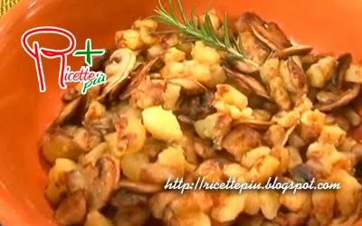 Patate in Padella con Funghi di Cotto e Mangiato