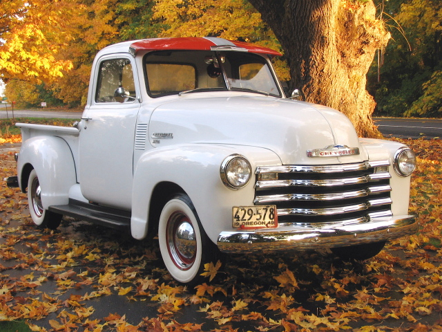 complete wiring diagram of 1950 1951 chevrolet pickup trucks all 1950 chevrolet 3100 pickup truck