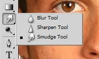 Trik menghaluskan kulit dengan smudge tool