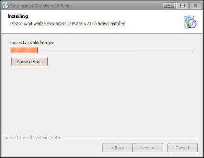 cara instal sreencast o matic
