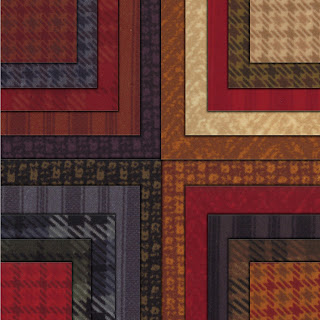 Moda WOOL & NEEDLE FLANNELS II Quilt Fabric by Primitive Gatherings