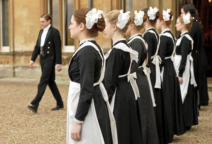 vestuario downton abbey