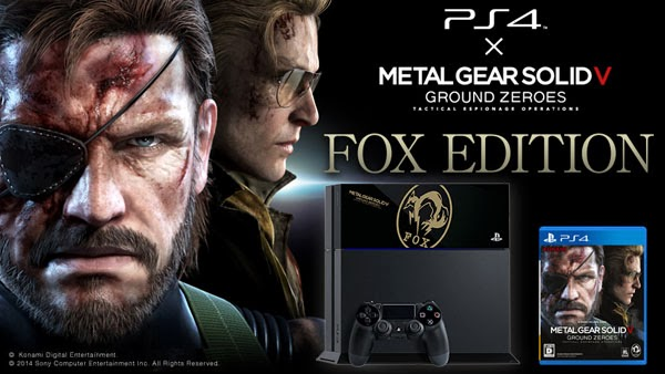 "Metal Gear Solid V: Ground Zeroes PlayStation 4 ""Fox Edition"""