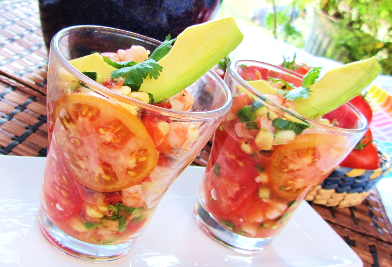 shrimp grilled gazpacho salad grilled grilled gazpacho salad grilled ...