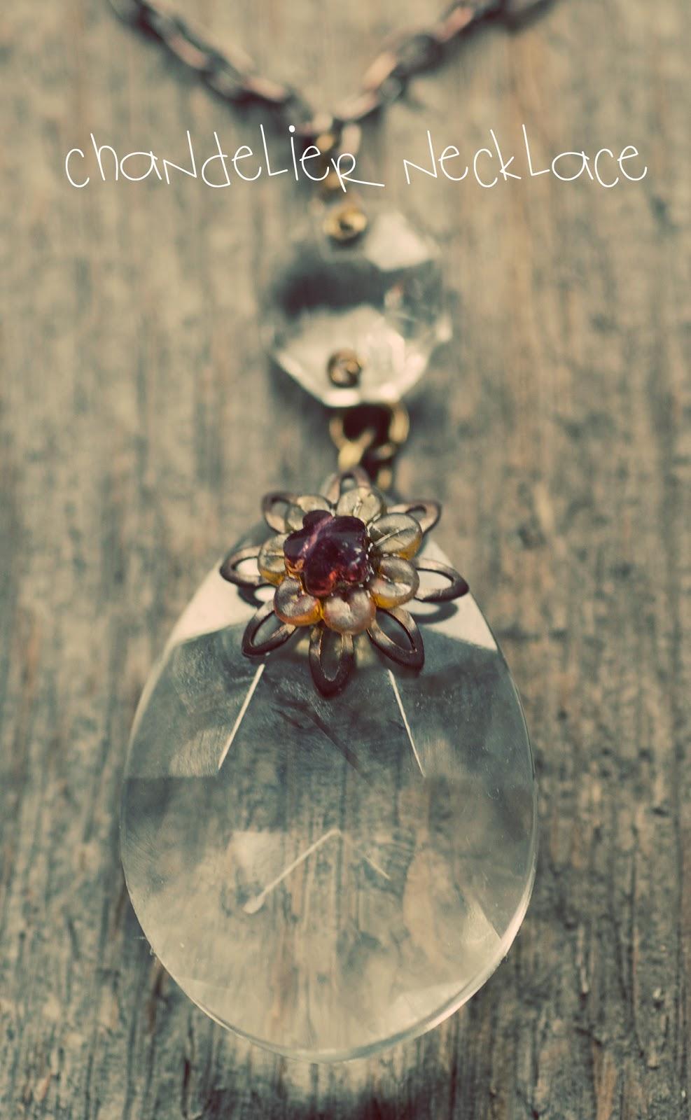 Maize hutton make a chandelier necklace - Build a chandelier ...