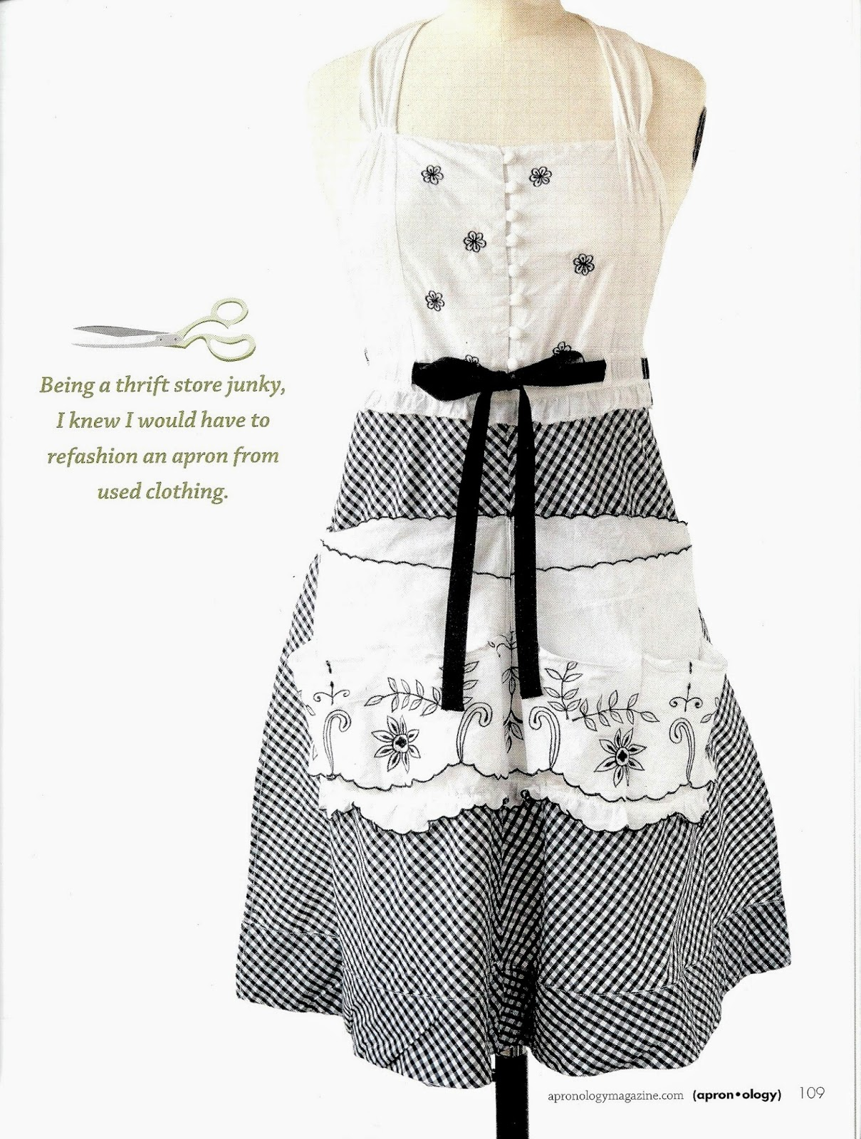 White apron belle - Belle Armoire Jewelry Autumn 2013