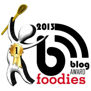 foodies blog award 2013