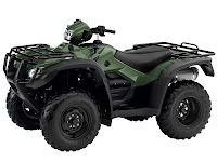 2013 Honda FourTrax Foreman Rubicon with Electric Power Steering TRX500FPA ATV pictures 3