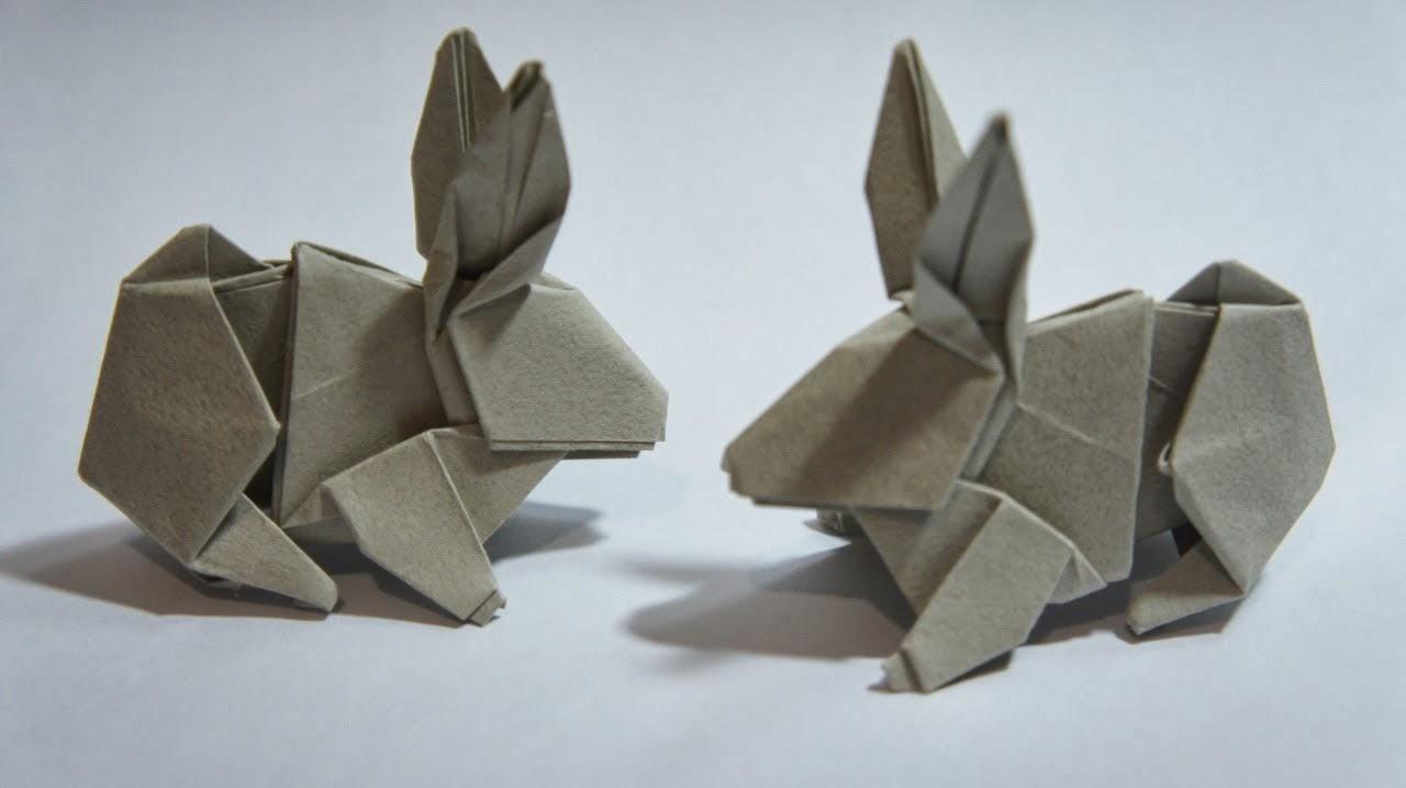 Origami Maniacs Origami Rabbit By Hsi Min Tai
