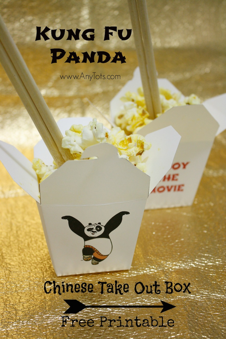 how to make kung fu panda
