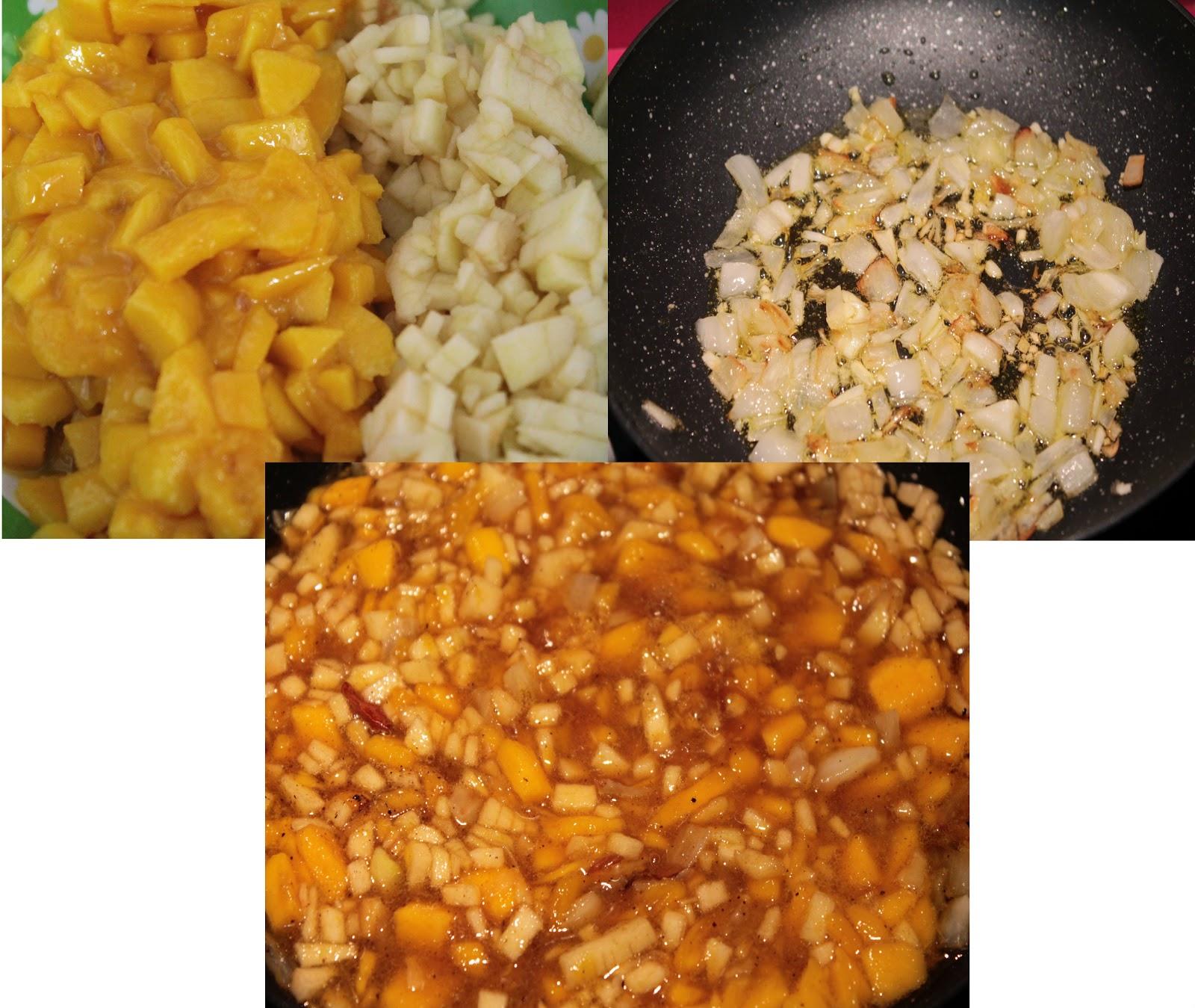 Carmina en la cocina chutney de mango for Cocinar con mango