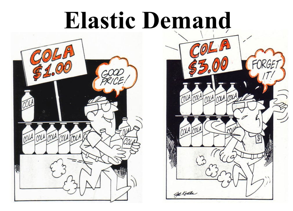 elastic demand Start studying elasticity learn vocabulary, terms, and more with flashcards, games, and other study tools.