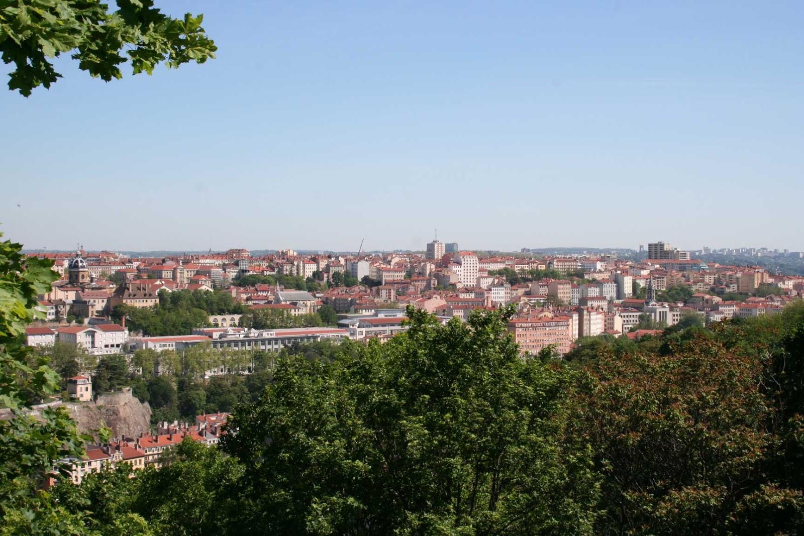parc des Hauteurs vue panoramique - visite guidée de Lyon - Nicolas Bruno Jacquet