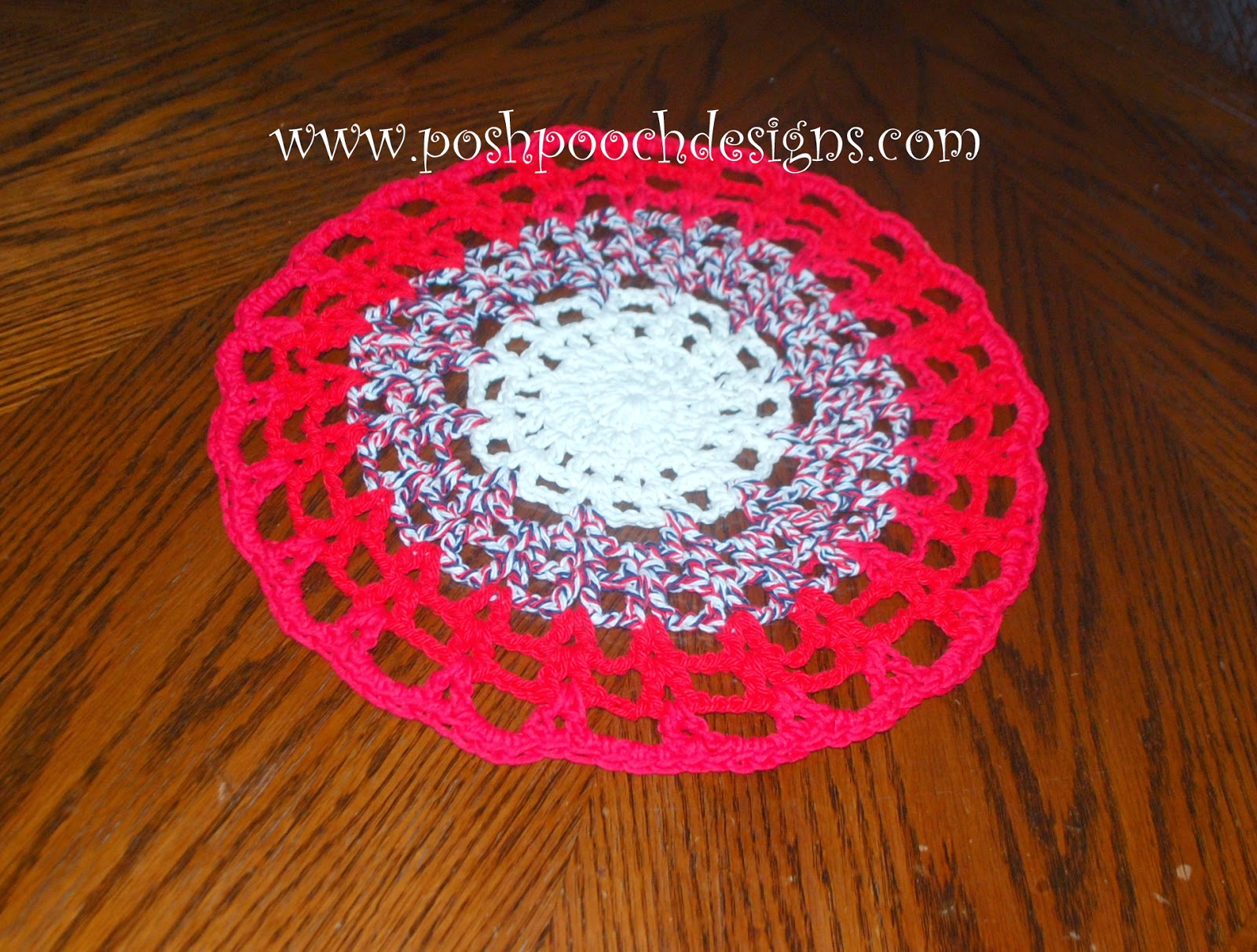 Posh pooch designs dog clothes round cotton placemat free crochet pattern bankloansurffo Image collections