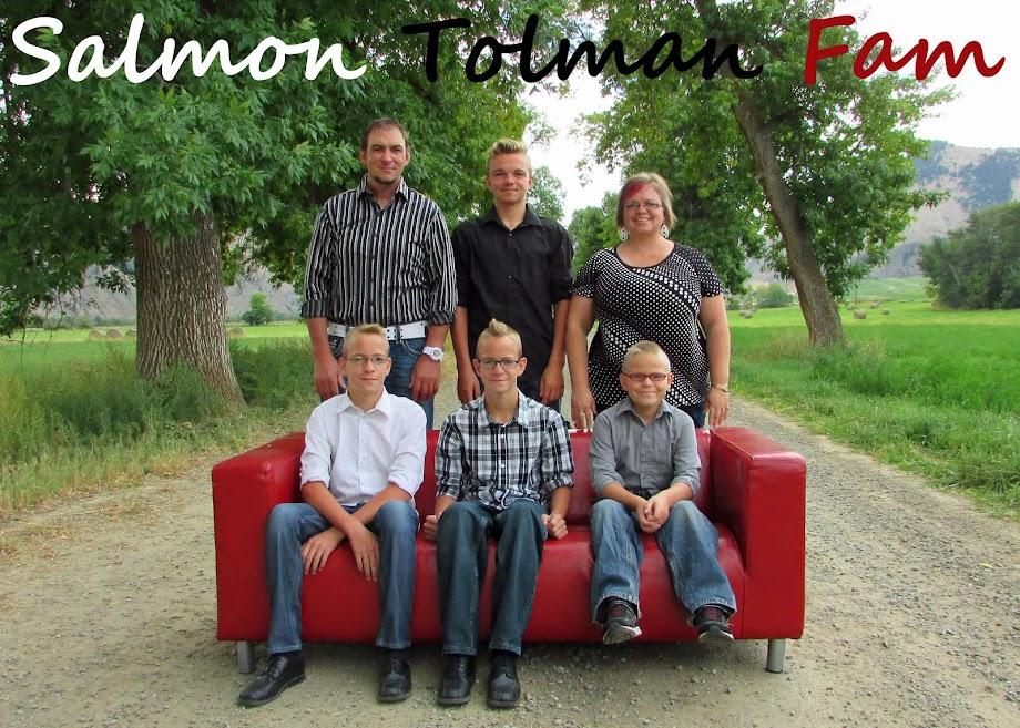 Salmon Tolman Fam