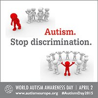 Autism. Stop discrimination