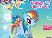 Rainbow Dash Equestria Race