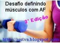 Desafio definindo músculos com AF