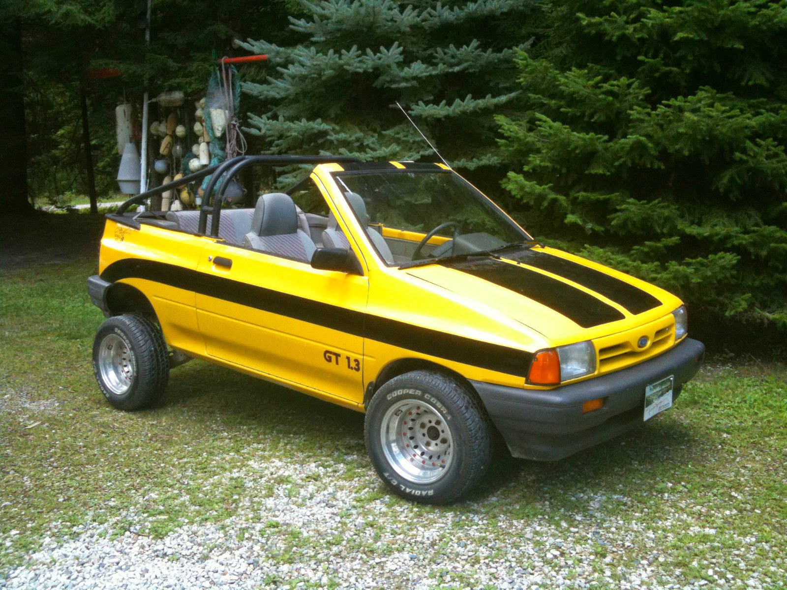 Daily Turismo 2k Rumble Bee 1993 Ford Festiva Custom