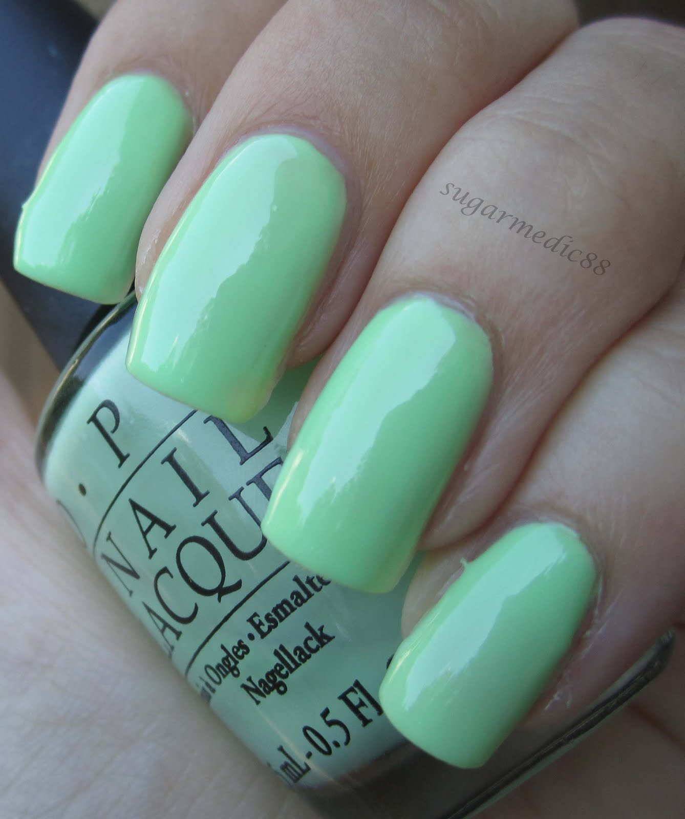 Gargantuan Green Grape Matte Swatch Opi Gargantuan Green Grape