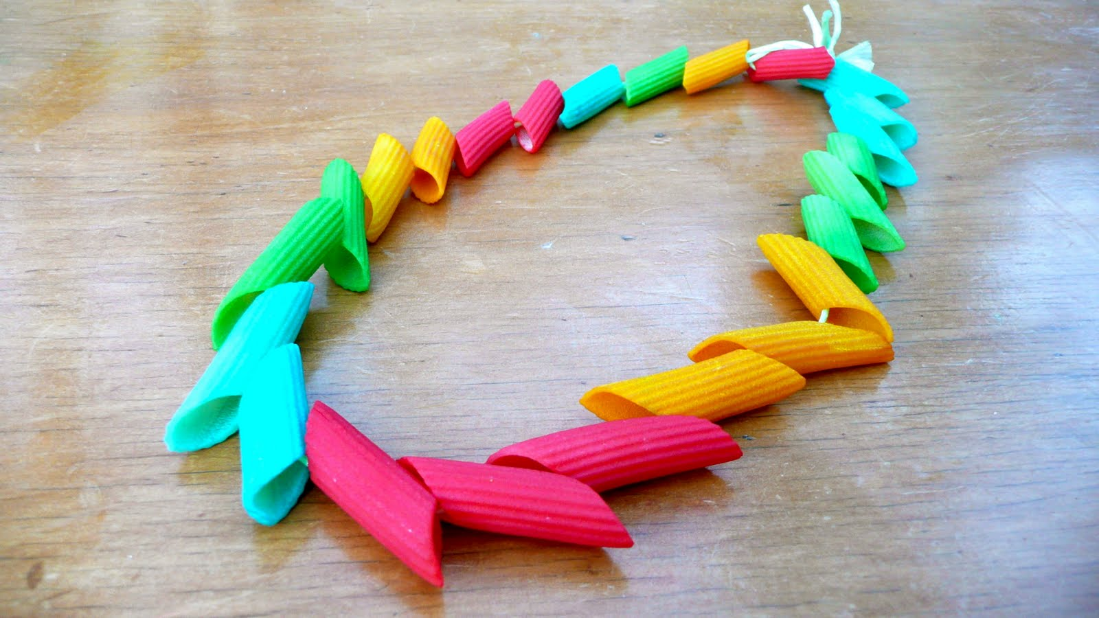 Coloured pasta made easy for How to make african jewelry crafts