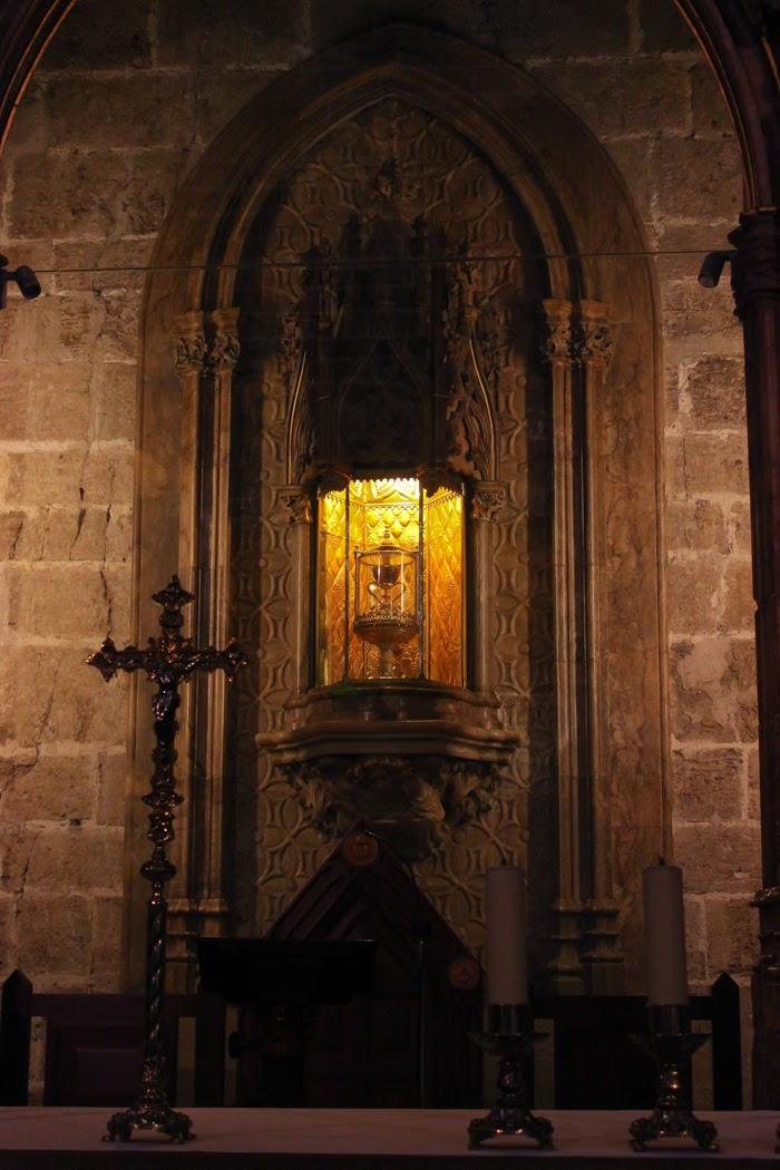 Valencia Cathedral--The Holy Grail