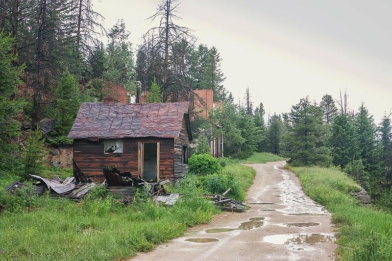 Exploring a ghost town called granite
