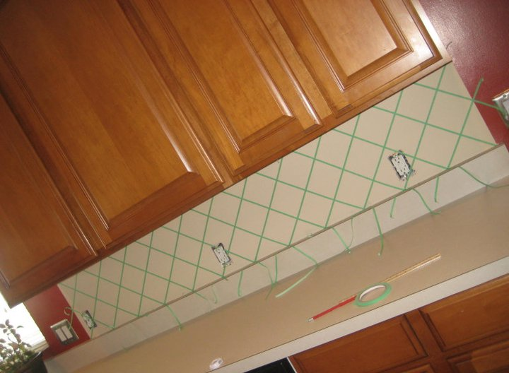 ceo of perry inc faux tile backsplash and some other things
