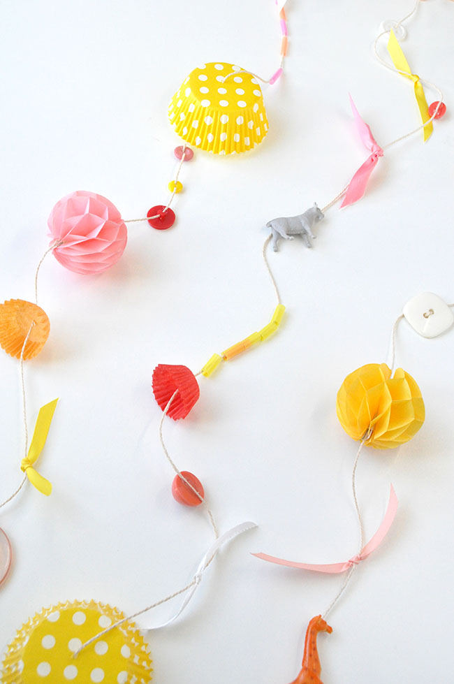 Found Objects Garland | Snowdrop & Co