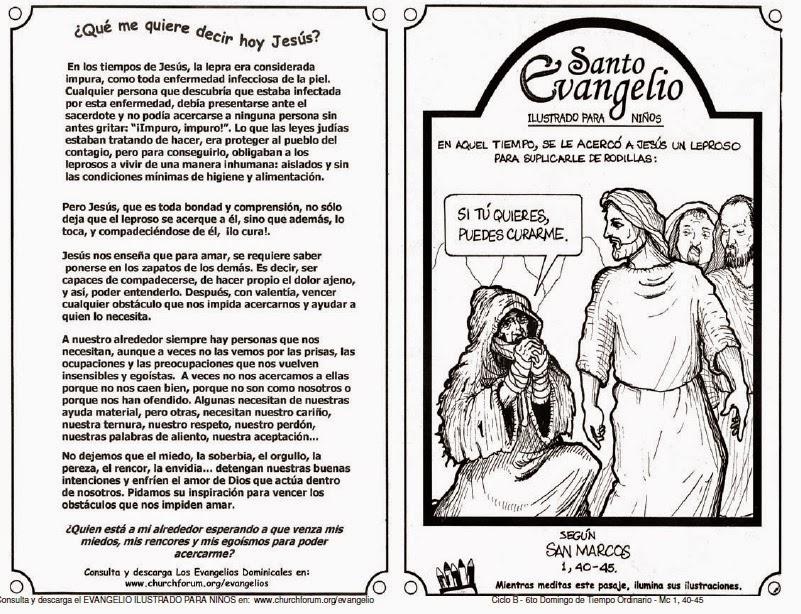 RECURSOS PARA CATEQUESIS: Rec. catequésis 6to. Domingo Tiempo ...