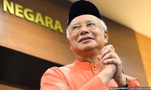 Gaji Najib sama dengan gaji pengurus besar GLC