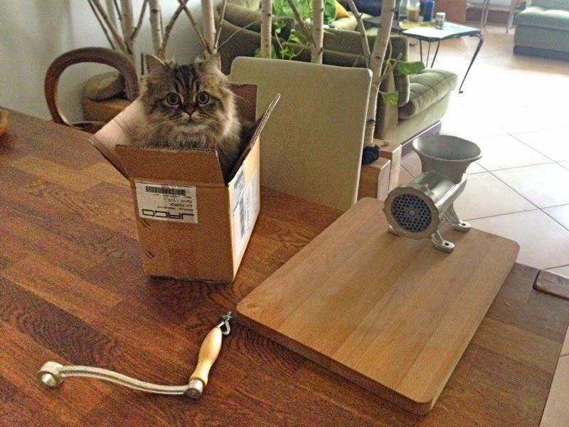 Manual Meat Grinder Raw Cat Food