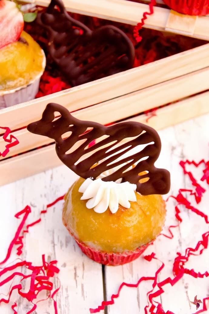 Receta de cupcakes para san valentin